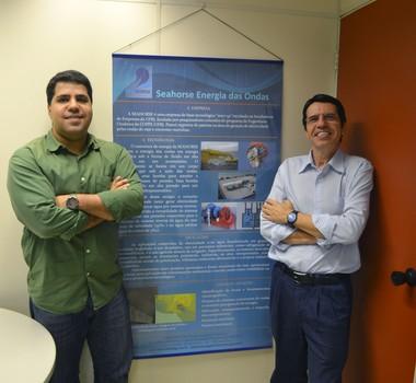 Rafael Malheiro e Paulo da Costa, da Sea Horse (Foto: Divulgação/Sea Horse)