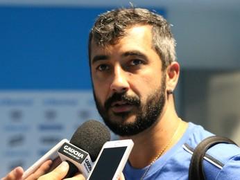 Douglas, meia do Grêmio (Foto: Diego Guichard/Globoesporte.com)