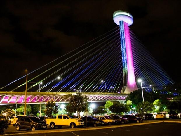 Funcionamento do Complexo da Ponte Estaiada é alterado (Foto: Divulgação/Prefeitura de Teresina)