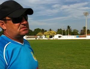 Jorge Pinheiro, técnico do Trairiense (Foto: Diego Morais/Globoesporte.com)