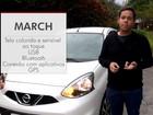Nissan March: G1 avalia central multimídia