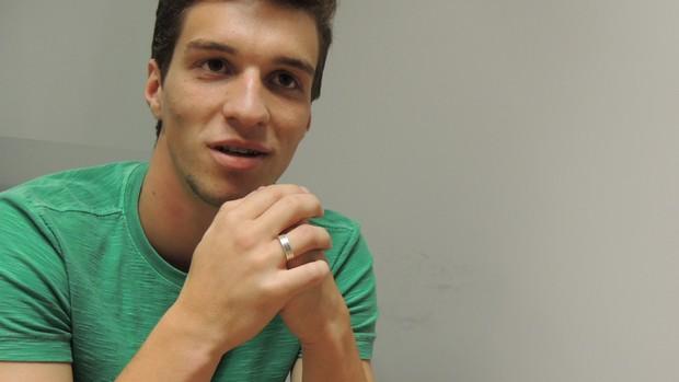 Jean Deretti, meia do Figueirense (Foto: Renan Koerich, globoesporte.com)