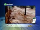 Chuva forte assusta moradores em Jales