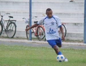 Fabinho, atacante do Parnahyba (Foto: Bergson Pessoa)