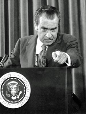 Richard Nixon, em foto de 1972