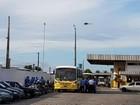 PM promete segurança, mas poucos ônibus deixam as garagens em Natal