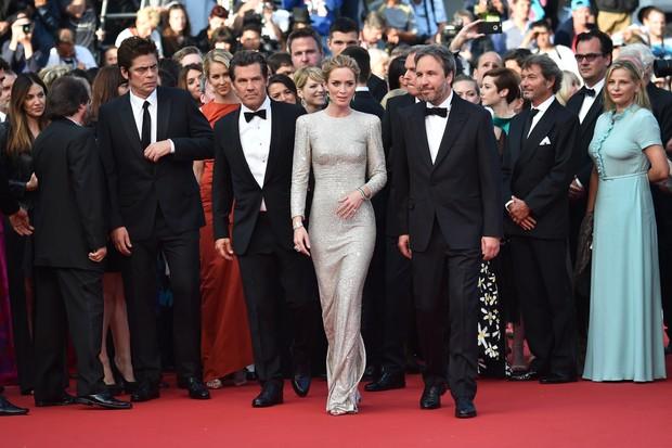 Emily Blunt no Festival de Cannes (Foto: AFP)