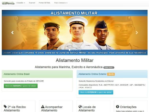 Prazo para o alistamento militar obrigatório começa no dia 2 de janeiro e segue até o dia 30 de junho (Foto: Reprodução / internet)