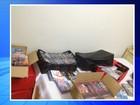 CDs e DVDs piratas são apreendidos na casa de um idoso em Votuporanga