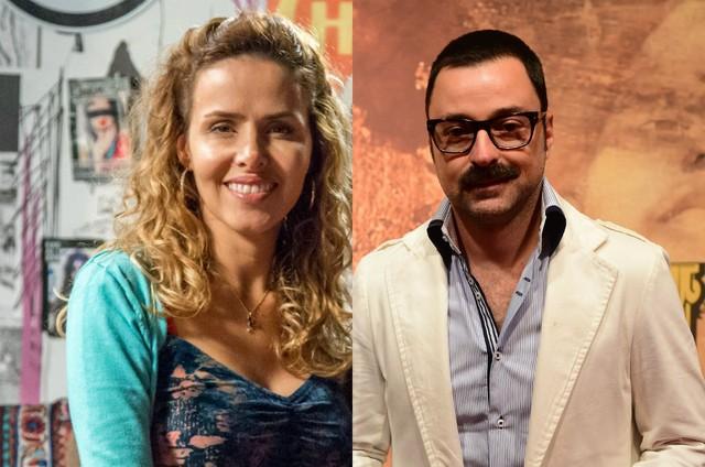 Leona Cavalli e Emilio Orciollo Netto (Foto: TV Globo)