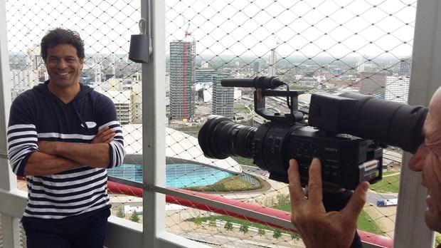 Srie 'Londres depois dos jogos' estreia em agosto sob o comando do ex-jogador Ra (Foto: Divulgao/ Flickr UK in Brazil)