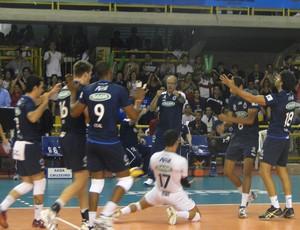 Cruzeiro e Lokomotiv Mundial de Vôlei  (Foto: Rafael Araújo)