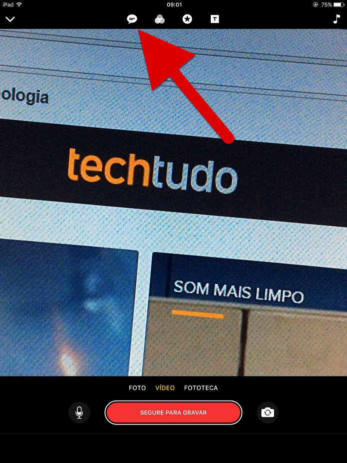 Ative o botão de ala para ativar as legendas (Foto: Felipe Alencar/TechTudo)