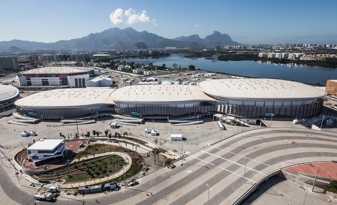 Arenas Cariocas do Parque Olímpico (Foto: Renato Sette Câmara / Prefeitura do Rio)