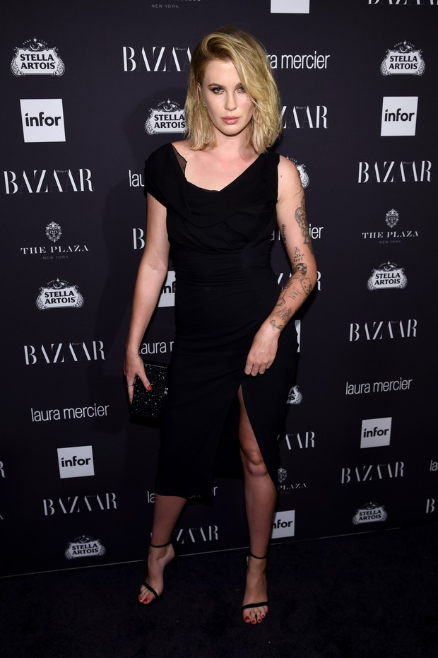 Ireland Baldwin em festa em Nova York, nos Estados Unidos (Foto: Dimitrios Kambouris/ Getty Images/ AFP)