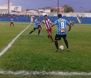 Montes Claros FC vence a Patrocinense (Foto: Cida Santana/Globoesporte.com)