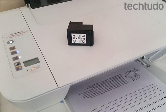 Veja como imprimir uma página de teste para alinhar sua impressora  (Foto: Barbara Mannara/TechTudo)