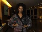 Juliana Alves fala sobre Beyoncé na Unidos da Tijuca: 'Na expectativa'