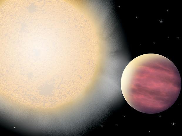 Planeta Kelt-1b (Foto: Julie Turner/Vanderbilt University/Divulgação)