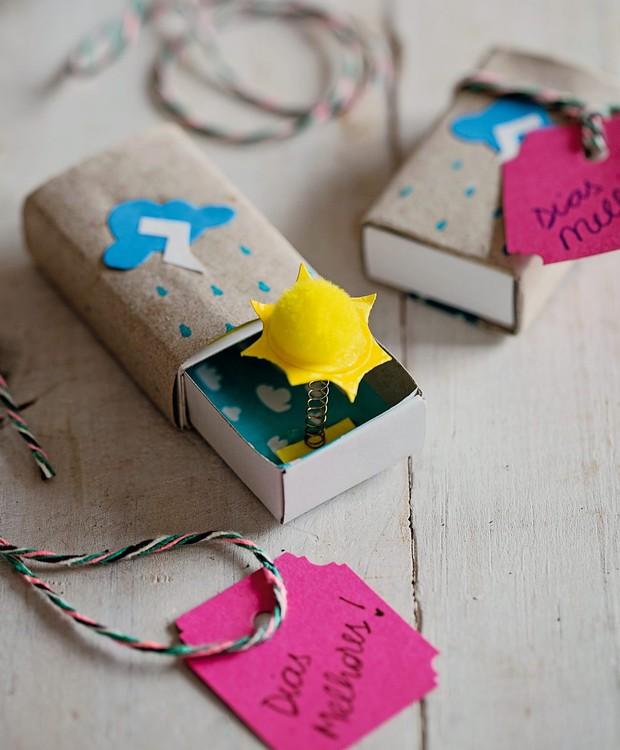 Caixinha da felicidades (Foto: Elisa Correa / Editora Globo | Execução Botões de Amora)