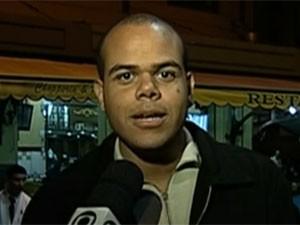 Bruno Teles foi preso em 2013 por suspeita de jogar bombas em PMs. Processo foi arquivado uma semana depois. (Foto: Reprodução / TV Globo)