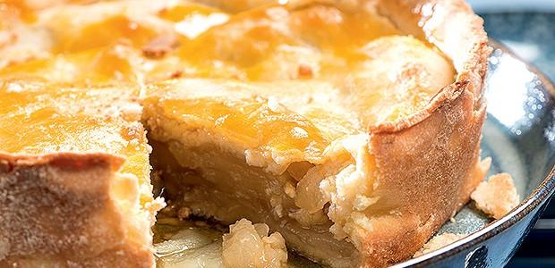 Torta de maçã verde  (Foto: Iara Venanzi/Casa e Comida)