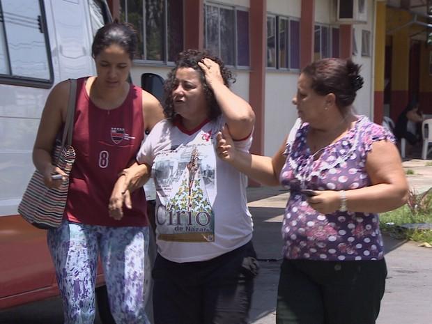 Vítimas acompanhavam Círio Fluvial no rio Amazonas (Foto: Reprodução/TV Amapá)