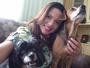 Katiuscia Reis revela a intimidade de suas cachorrinhas, Lilithy e Jade