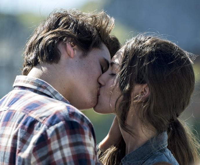 Rola maior beijão! (Foto: Ellen Soares/Gshow)