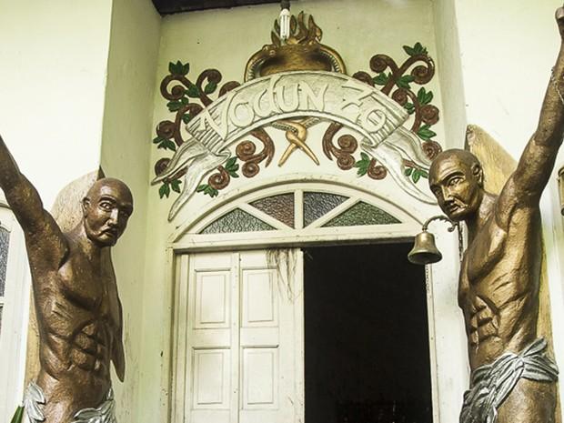 Terreiro é o primeiro beneficiado por lei municipal (Foto: Thamires Tavares/ Divulgação)