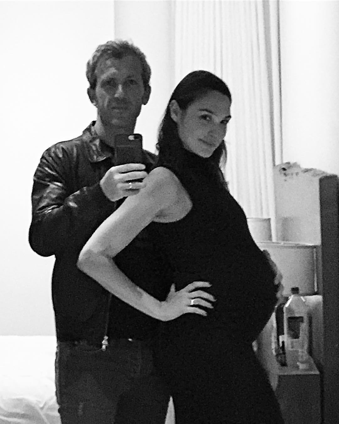 Gal Gadot e o marido Yaron Versano (Foto: Reprodução instagram)