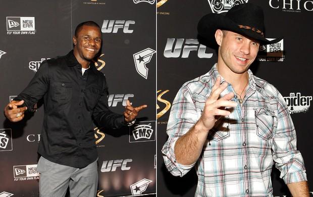 Montagem Melvin Guillard e Donald Cerrone, UFC (Foto: Editoria de arte / Globoesporte.com)