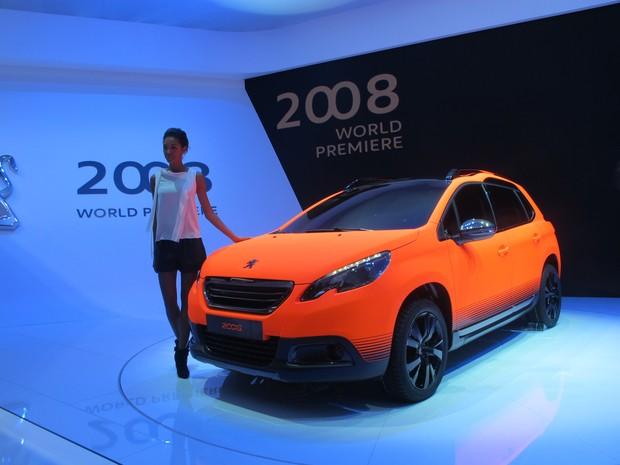 Peugeot 2008 será vendido no Brasil a partir de 2015 (Foto: Luis Fernando Ramos/G1)