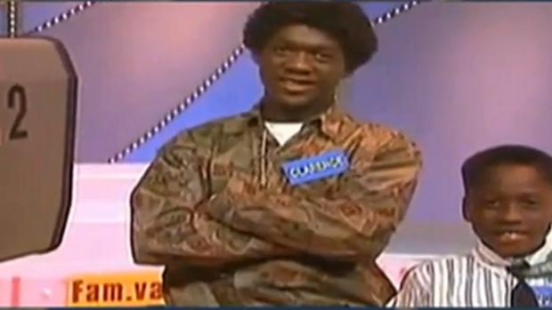 Seedorf em programa de TV aos 15 anos (Foto: Reprodução/SporTV)