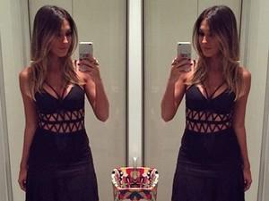 Talitha Morete faz selfie no espelho (Foto: Arquivo Pessoal)
