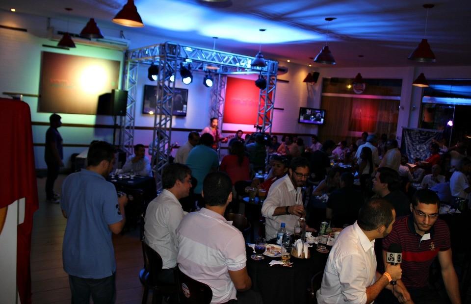 Tv Amazonas promove o vem_aí 2014, em evento, em Manaus (Foto: TV Amazonas)