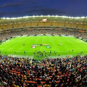 Arena da Amazônia inauguração (Foto: Michael Dantas/Sejel)
