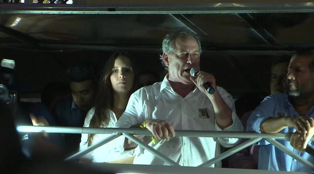 Veja a agenda de campanha do candidato à presidência pelo PDT, Ciro Gomes