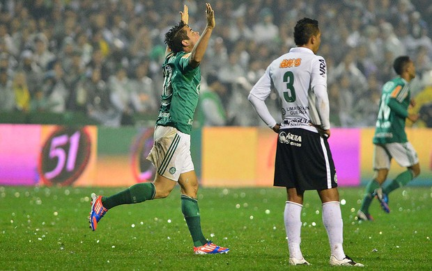 Betinho, Coritiba x Palmeiras (Foto: Marcos Ribolli / Globoesporte.com)