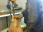 Polícia apreende 55 kg de pescado ilegal (Divulgação/CPAmb)