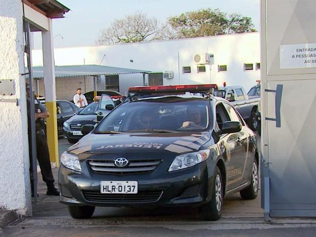 Polícia Federal iniciou operação de combate a crimes eleitorais no Sul de Minas (Foto: Reprodução EPTV)