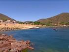 Após reforma, praia onde ator sem afogou ficou sem sinalização