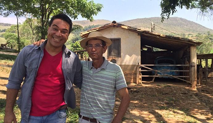 José Baltazar produz o melhor Queijo Canastra na região da Serra da Canastra (Foto: Divulgação | Tô Indo)