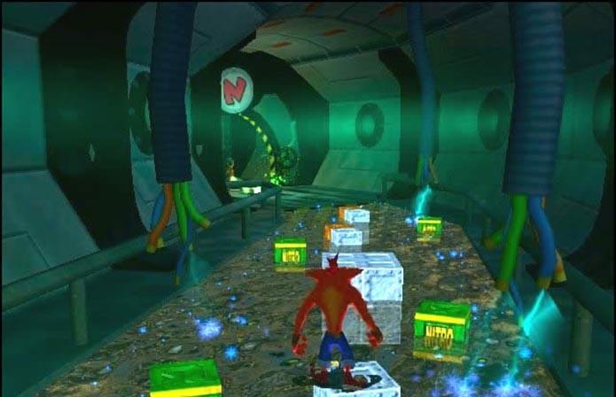 O carismático Crash também deu as caras em Wrath of Cortex (Foto: Reprodução)