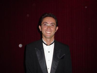 Ricardo Fela, na época da faculdade (Foto: Arquivo Pessoal)