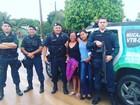 Policiais entregam cartões e fazem homenagem às mães em Roraima