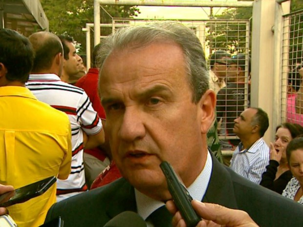 Mágino Alves Barbosa Filho, secretário de Segurança Pública em Ribeirão Preto, SP (Foto: Reprodução/EPTV)