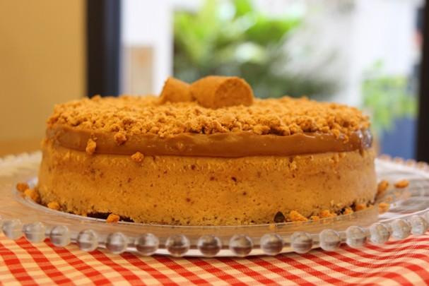 Cheesecake de amendoim (Foto: Divulgação)