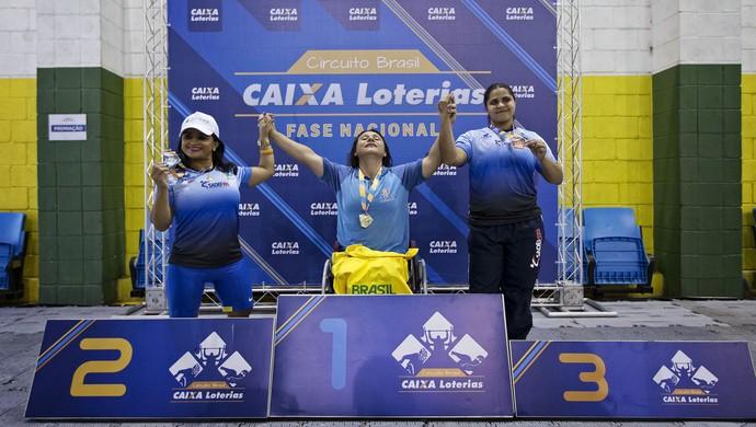 Maria Rizonaide Maria Luzineide halterofilismo circuito brasileiro (Foto: Márcio Rodrigues/MPIX/CPB)
