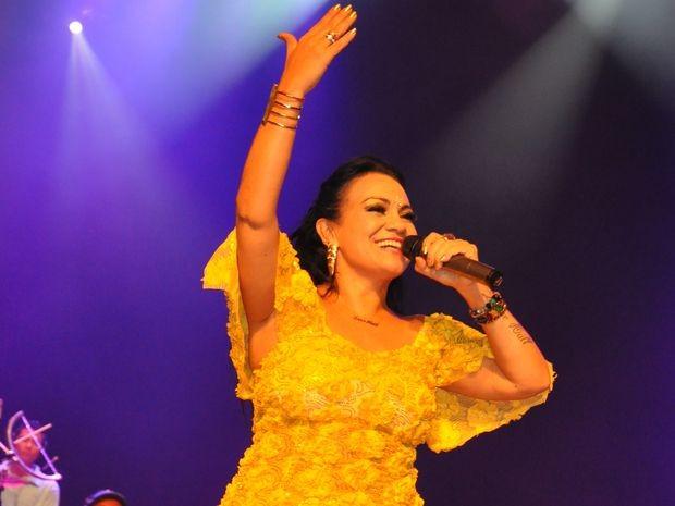 Lene Hall vai lançar novo DVD nesta sexta-feira (6) em Aracaju. (Foto: Arquivo Pessoal da cantora)